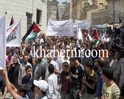 الطفيلة وحيها عمان: الشعب يريد