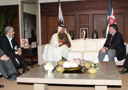 الملك التقى مشعل وولي عهد قطر 68747_1_1327841337