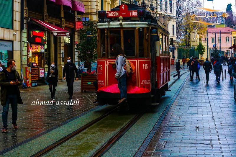 تركيا-شارع الاستقلال عدسة احمد صالح