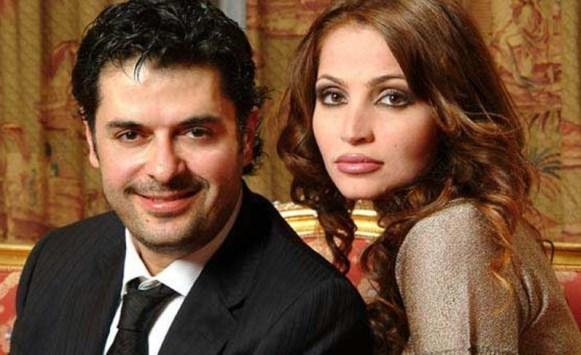 موقع خبرني : زوجة راغب علامة تعلق على منعها من الرقص