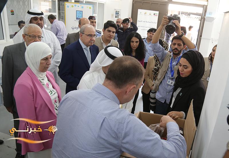 إطلاق المرحلة الأولى من دعم الهيئة الخيرية الاسلامية العالمية لتكية أم علي