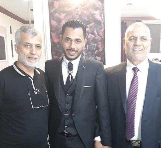 حمزة محمود خيرالله يدخل القفص الذهبي