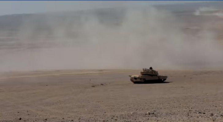 تمرين عسكري أردني أميركي بالذخيرة الحية