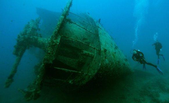 اكتشاف سفينة تعود لحقبة المسيح
