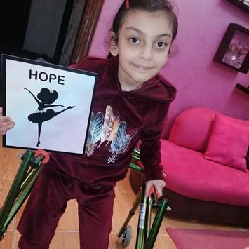 لين طفلة تستغيث الأردنيين