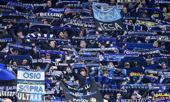 مباراة كرة قدم متهم بتفشي كورونا في إيطاليا!