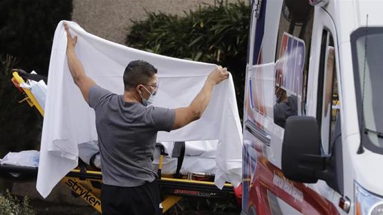 اميركا : 827 وفاة و60 الف إصابة بكورونا