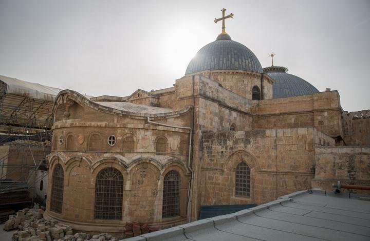 إغلاق كنيسة القيامة بالقدس