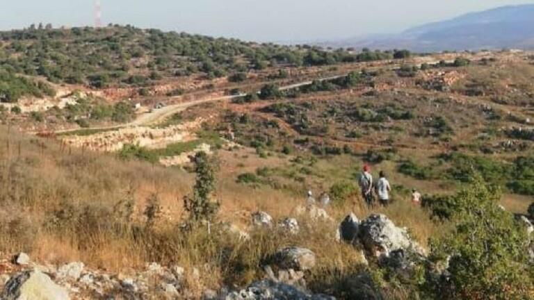 خيمة إسرائيلية على حدود لبنان