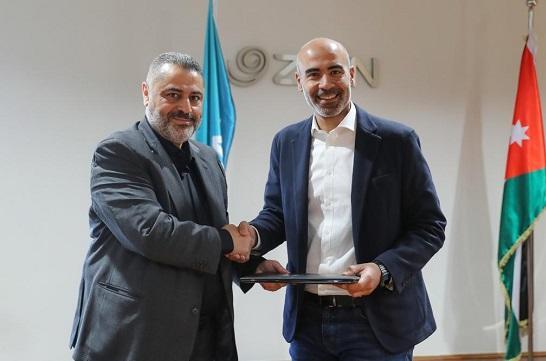 اتفاقية تعاون بين زين وبلديّة الزرقاء