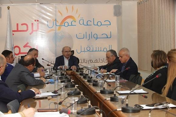 المصري يثمن دعوة جماعة عمان لحوارات المستقبل