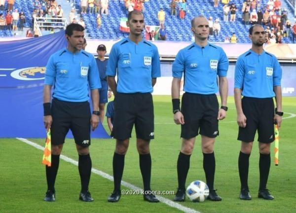 طاقم حكام أردني يدير مباريات أبطال آسيا
