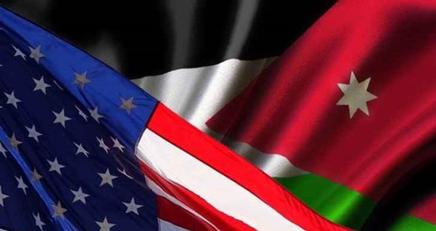 %800 زيادة التجارة بين الأردن وأميركا