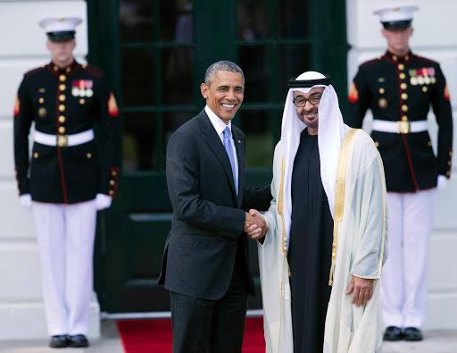 أوباما : بن زايد أذكى زعيم في الخليج