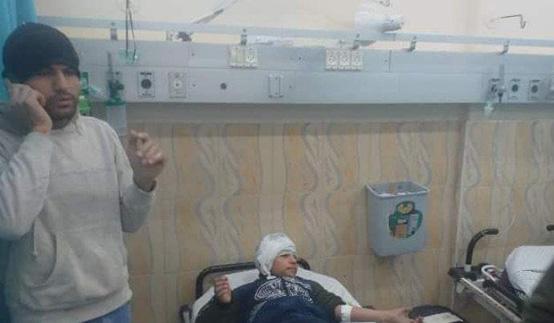 16 إصابة بانفجار غامض شمال غزة - صور