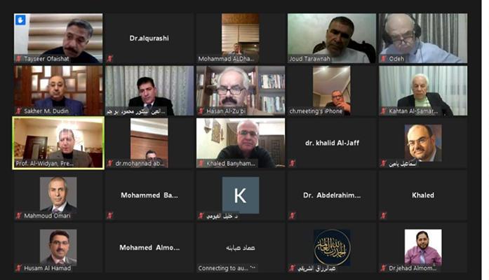 ندوة بعنوان يوم القدس في جامعة عمان العربية