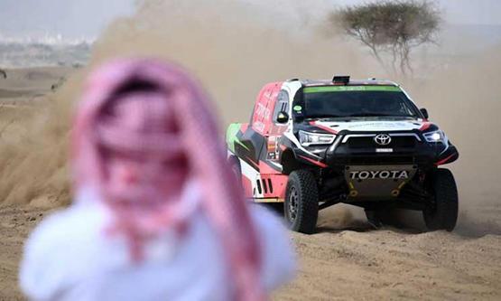 صحيفة : 9 إسرائيليين يشاركون برالي داكار بالسعودية