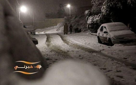 تعرفوا على أماكن تساقط الثلوج بالأردن