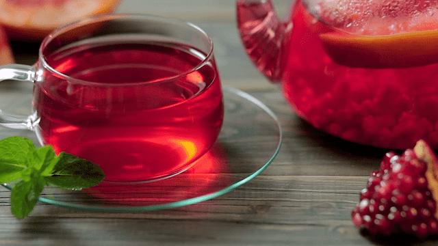 فوائد غير متوقعة لكوب شاي الرمان يوميا
