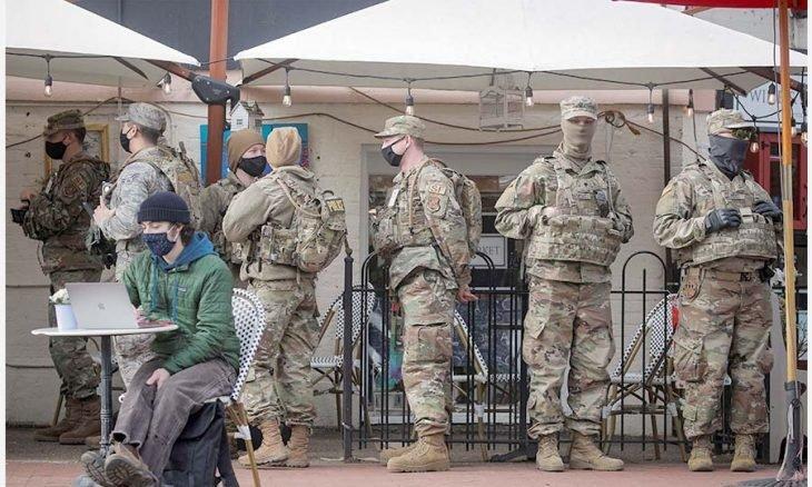 واشنطن تتحول إلى ثكنة عسكرية