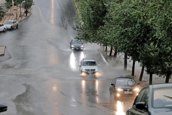 تزايد تأثر الأردن بالمنخفض الجوّي