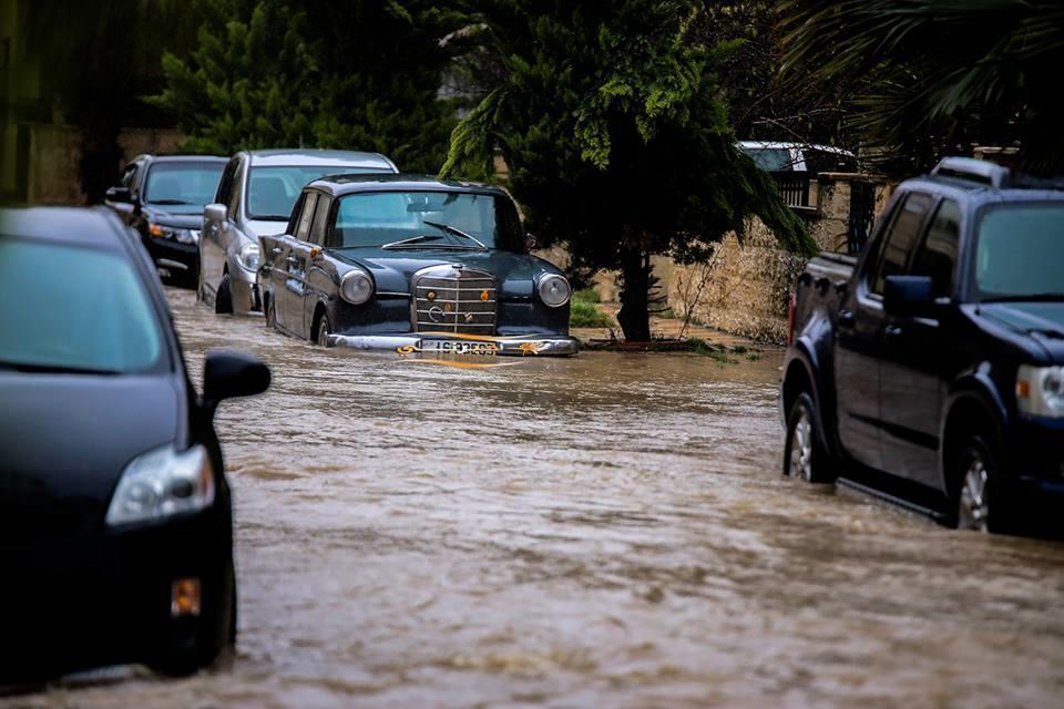 كميات الأمطار المسجلة منذ بداية المنخفض