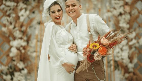 العروس حامل.. حفل يثير الجدل بمصر - فيديو