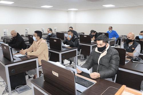 دورة تدريبية بجامعة الشرق الاوسط لمركز الدراسات الإستراتيجية الأمنية