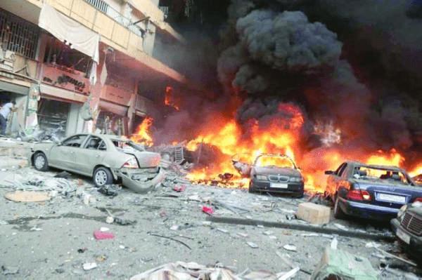 30 قتيلا وجريحا بانفجارين في بغداد
