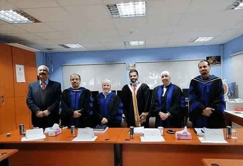الشاعر يوسف عبد العزيز يحضر مناقشة ماجستير عن شعره بجامعة البترا