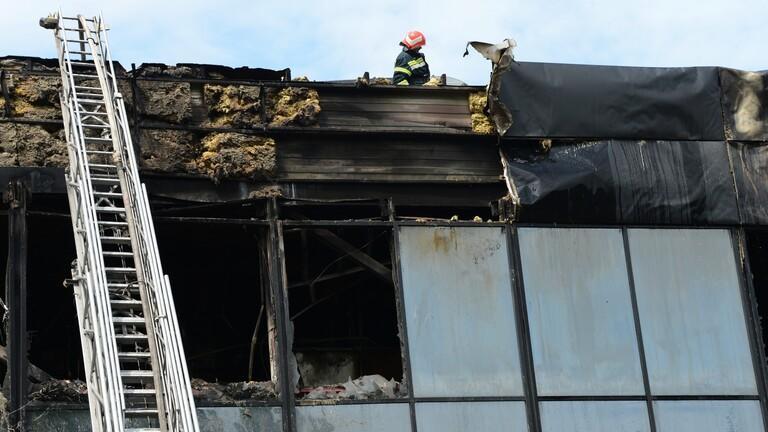 15 قتيلا بحريق دار مسنين في أوكرانيا