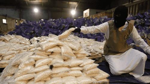 السعودية تحبط تهريب كمية مخدرات ضخمة في شحنة عنب