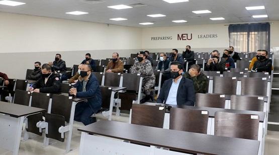 جامعة الشرق الأوسط تواصل تنفيذ دوراتها لمركز الدّراسات الإستراتيجية الأمنية