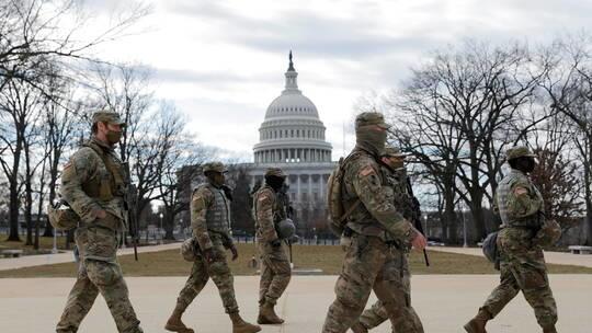 الحرس الوطني الأميركي يبقي على 5 آلاف عنصر بواشنطن