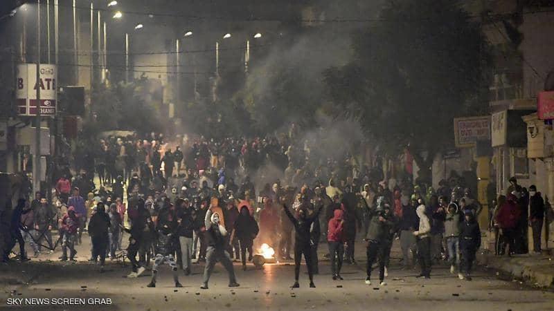 تفجر احتجاجات جديدة في تونس