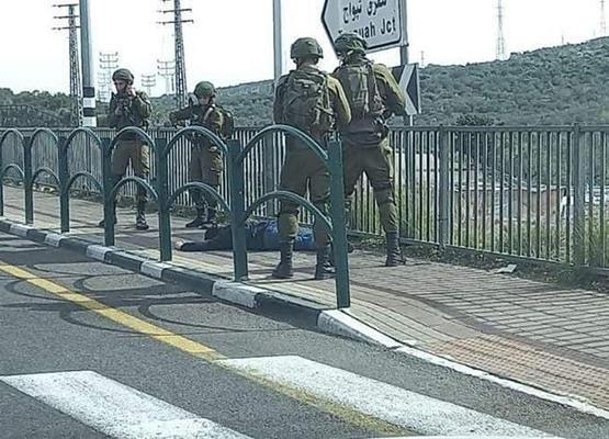 اطلاق نار على فلسطيني شمال الضفة