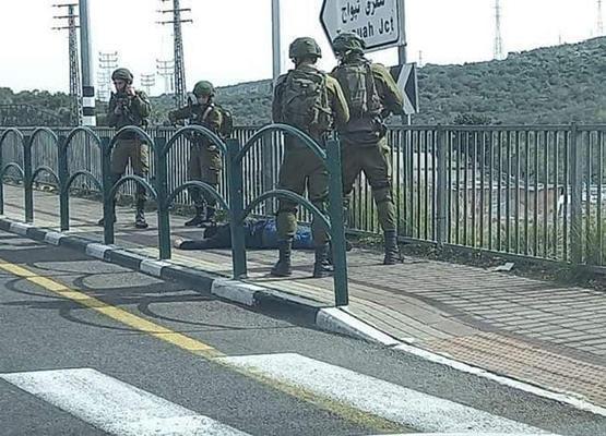 استشهاد فلسطيني برصاص الاحتلال