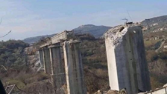 سرقة سكة قطار في سوريا