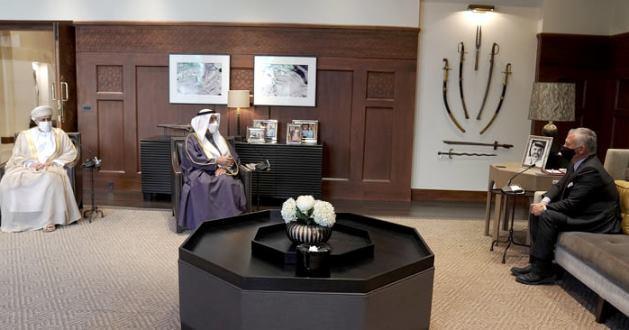 الملك: حريصون على تطوير التعاون مع الخليج