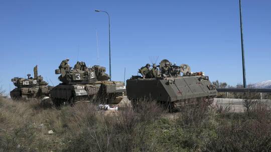 حركة كثيفة للجيش الإسرائيلي على حدود لبنان
