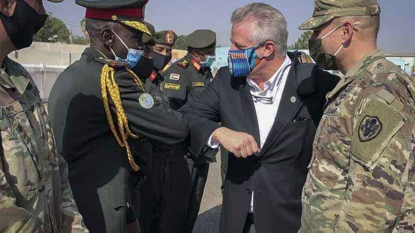 مسؤول أميركي كبير في الخرطوم
