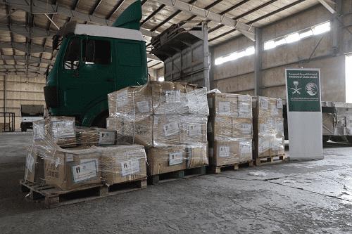 مساعدات طبية من مركز الملك سلمان للإغاثة لفلسطين