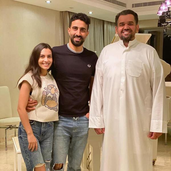 زيادة وزن حسين الجسمي تلفت الانظار