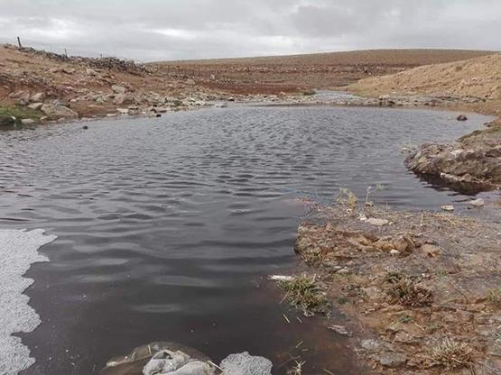 فيديو جديد لتلوث مياه سد الوالة