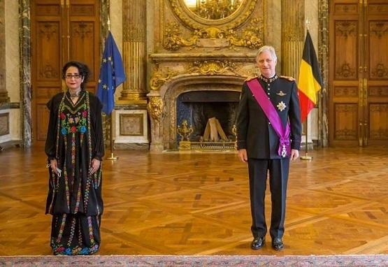 المجالي أمام ملك بلجيكا بـ (المدرقة)