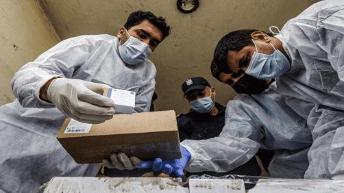 وصول كمية من لقاحات كورونا إلى غزة