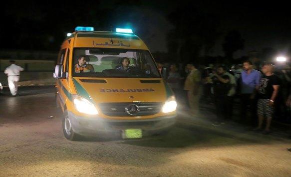 7 وفيات بغرق مركب ببحيرة في الاسكندرية