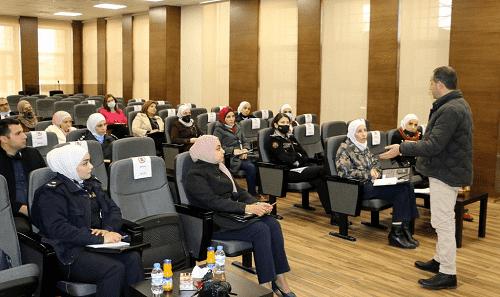 جامعة الشرق الأوسط تستكمل جلساتها التدريبية