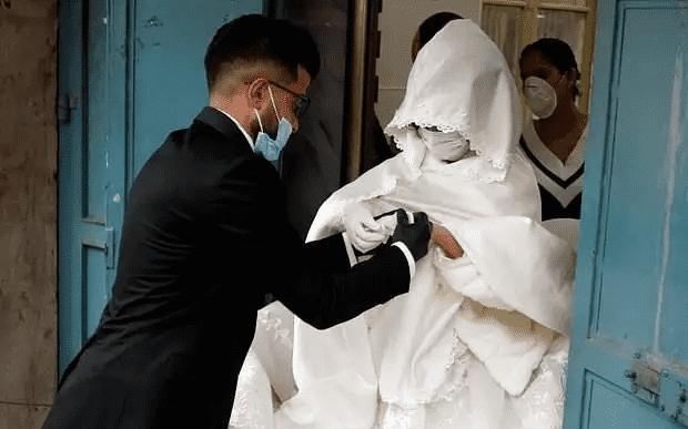 عريس يكتشف إصابته بكورونا والسرطان يوم حفل زواجه
