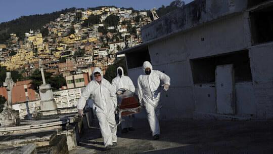 ارتفاع حاد بإصابات كورونا في البرازيل